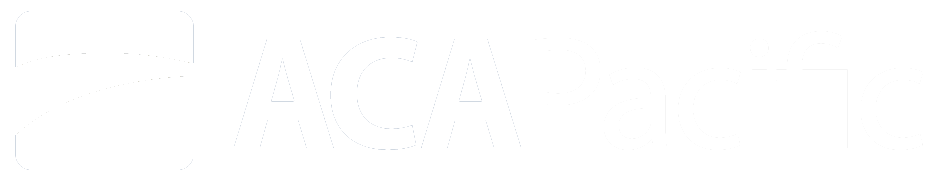 ACA Pacific Logo - White Transparent HD